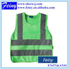promotion hi vis green children safety vest child reflective
