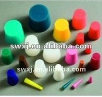 Custom Silicone Rubber Bungs/ rubber stopper for sealing