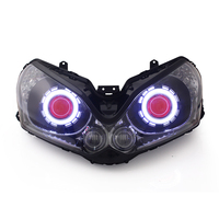 Motorcycle HID Lighting LED Projector LED Headlight Assembly for ZG1400 2008-2012