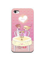 Hot Sale Fashion Design Cute Cartoon Jimmy comic book character pattern cover case for iphone4s 5s 5c iphone 6