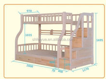 Home Furniture General Use and Modern Appearance cheap wood bunk beds for kid bed furniture