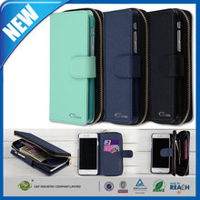 """C&T Luxury PU Leather Design Girls Purse Cell Phone Case Wallet Folding Cover for Apple iPhone 6 Plus 5.5"""""""