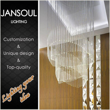 China supplier baccarat pendant lamp used k9 crystal chain drops for chandelier