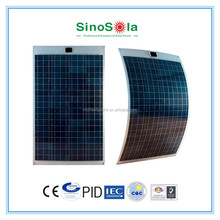 Adhesive thin film flexible solar panel with high quality and light weight
