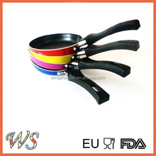 WS-C003 HOT SELL High Quality Aluminium Non-stick Coating Mini Fry Pan with Heat Resistant Paint Outside