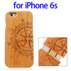 Newest Products Various Designs Bamboo Wood Wood Case for iPhone 6s