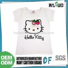 High Standard Custom Color Wholesale Price Kids Plain T Shirts