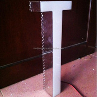 LED Stainless Steel Letter Sign with Resin Faces
