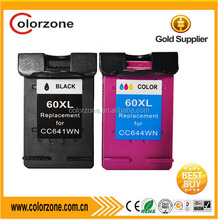 for remanufactured cartridge hp 60 ink cartridge