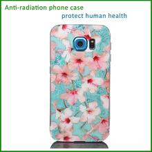 factory wholesale anti-radiation carbon fiber tpu cell phone case printer