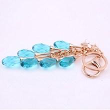 2015 fashional crystal key chains key chain with swarovski crystal
