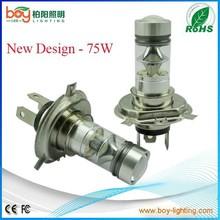 New design LED Fog Light LED Tail Light 75W H4 Headlight