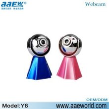 webcam Y8, pc camera, digital pc camera, beautiful camera,manual focus with night vision