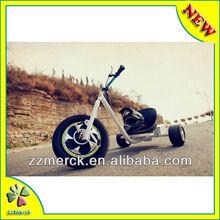 Motorized Drift Trike with PVC drifting ring