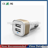 Hot sale 3.1A dual USB car charger for cell phone /MP3/MP4