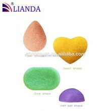 cosmetic konjac sponge,sponge puff,long handle powder puff