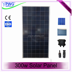 300w Solar Panel with CE & ISO Certificate high quality cheap solar panel for sale