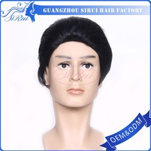 2013 new style hair mans toupee /wig with factory price nature hair wigs for men