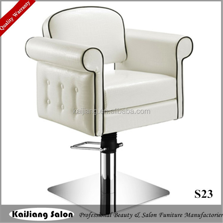 2015 hot sale white colored hair styling chair sale beauty for Colored salon chairs
