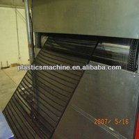 PP/PE plastic geogrid production line and machinery