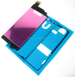 LCD Display+Touch Screen Digitizer+Adhesive For Sony Xperia Z3 Compact~Black - 03854-MELFADXperZ3CnB