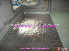 wall use reflection heat insulation material(VMPET+non-woven cloth+VMPET)