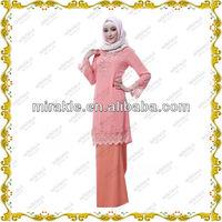 MF20861 2014 new muslim baju kurung modern