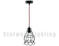 Creative America vintage style pendant lamp cage vintage industrial light fixtures
