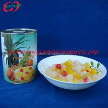 Top quality canned fruit cocktail in light syrup, brands canned fruit factory