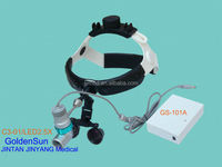 Surgical dental led headlight and loops