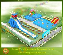 Giant inflatable playground park/inflatable floating water park