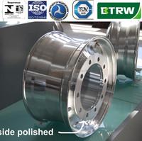 2014 High quality 22.5 aluminum alloy truck wheel same as Alcoa wheels