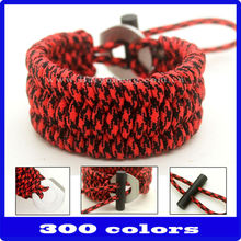 wholesale football team paracord bracelet