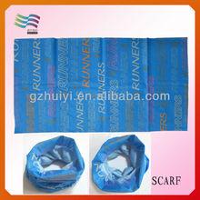 Guangzhou Custom Muslim Silk and Satin Headscarf