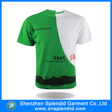 Cheap wholesale tshirts custom two tone personalized printed family tshirts