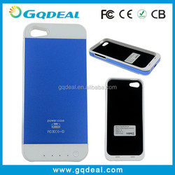 China Supplier 3500mah Ultra Slim External Charger Cover Case Pack For iPhone 5s