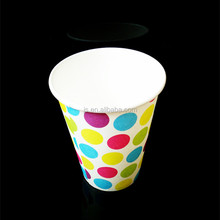 Colourful soda drink 6 oz Double Wall Paper Cups