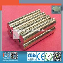 Alta potente neodimio de disco imán N35 N38 N40 N42 N45 N48 N50 N52