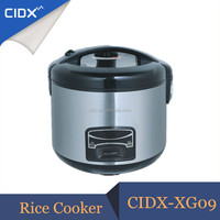 Stainless Steel Deluxe Staight Body Electric Rice Cooker Pressure Cooker