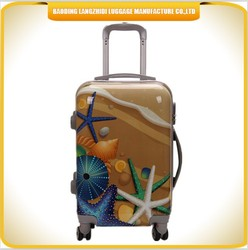 New product kids ABS cartoon travel trolley case luggage