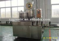 2in1 glass bottle filler and crown capper/capping machine