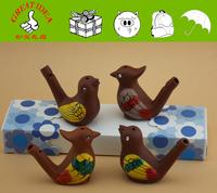 2015 bestselling wholesale hand painting ceramic bird whistles