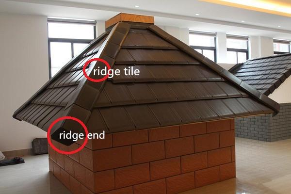 High end glazed ceramic roof tile german european flat for Flat clay tile roof