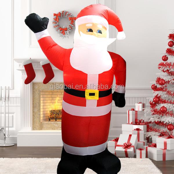 Wholesale inflatable santa claus