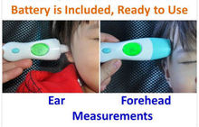 Wholesale 8 in 1 Thermometer Baby Adult Digital LCD Ear/Forehead/Ambient/Clock IR Infrared Thermometer