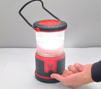 2015 camping equipments led rechargeable battery camping lantern L4R