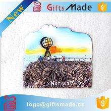 custom New Tourist Souvenir 3D Resin fridge magnet/Melaka Malaysia Fridge Magnet
