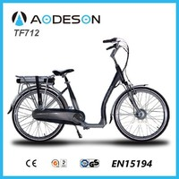step through electric bike/bicycle TF712, high power ebike with en15194,cheap city bike of aodeson brand,ebike