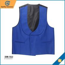 Custom Cotton casual summer Round Collar Vest
