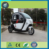 electric passenger tricycle three wheel scooter / cheap enclosed electric tricycle